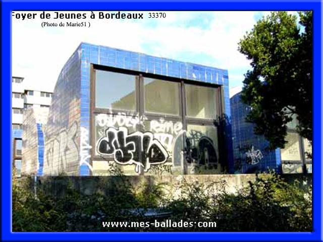 Bordeaux 33 for Foyer jeune travailleur bordeaux