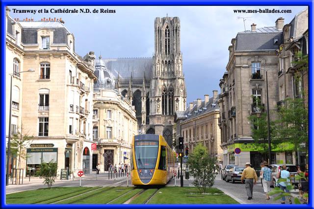 Decouverte du tramway a reims 51100 for Piscine de reims