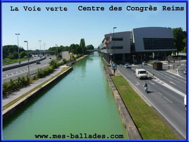 La Coulee Verte A Reims 51100