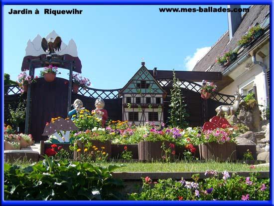 Le village de riquewihr 68 for Alexandre jardin mes trois zebres