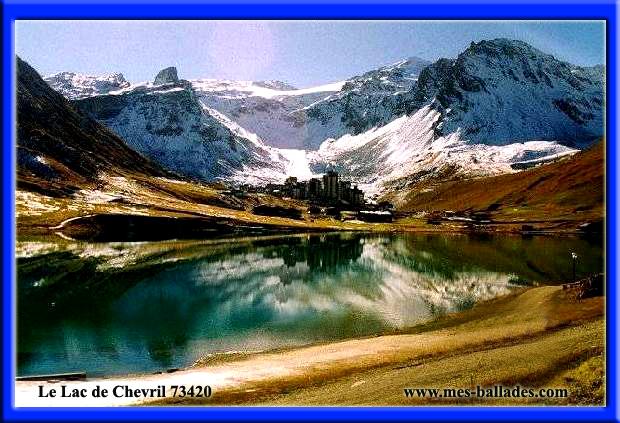Le lac de chevril et le barrage de tignes 73320 - Lac du chevril ...