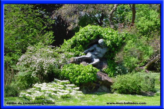 Le jardin du luxembourg a paris 75006 - Statue de la liberte jardin du luxembourg ...