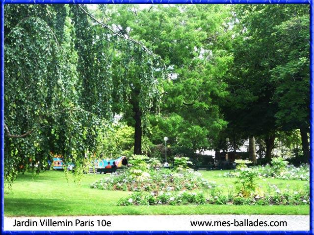 le jardin villemin dans paris 75010 On jardin villemin