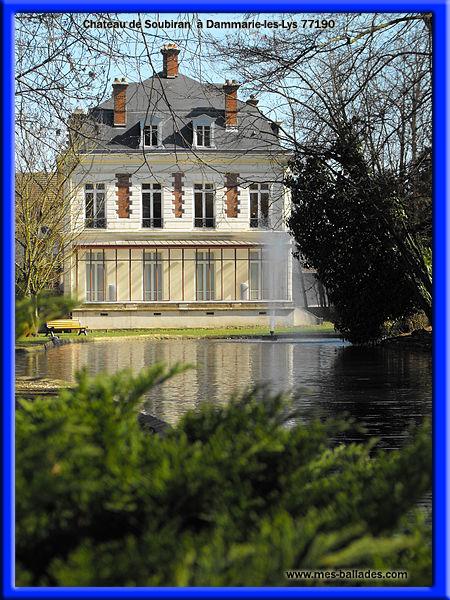 Les plus beaux chateaux en seine et marne 77 - Chateau de dammarie les lys ...