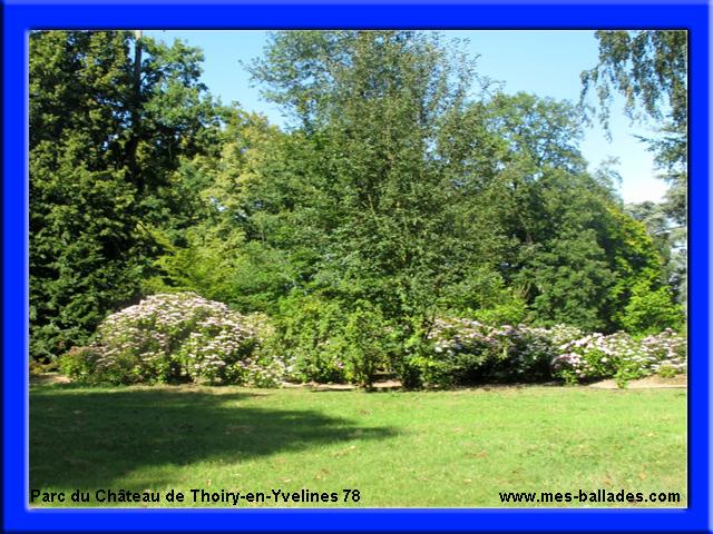 Le chateau de thoiry en yvelines 78770 for Parc enfant yvelines