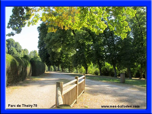 Le chateau de thoiry en yvelines 78770 for 78 parc animalier