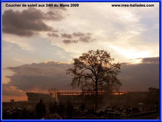 Notre arrivee aux 24 heures du mans 2009 72 - Heure de coucher du soleil 2015 ...