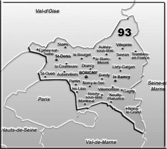 Le Departement De La Seine Saint Denis 93